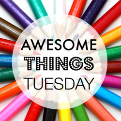 Awesome Things Tuesday Button