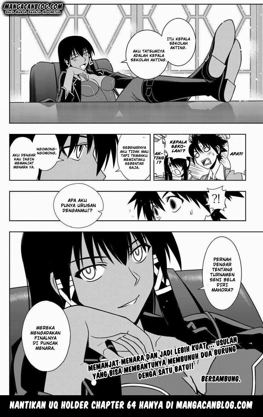 Komik uq holder 063 - perempuan kuat yang lucu 64 Indonesia uq holder 063 - perempuan kuat yang lucu Terbaru 16|Baca Manga Komik Indonesia