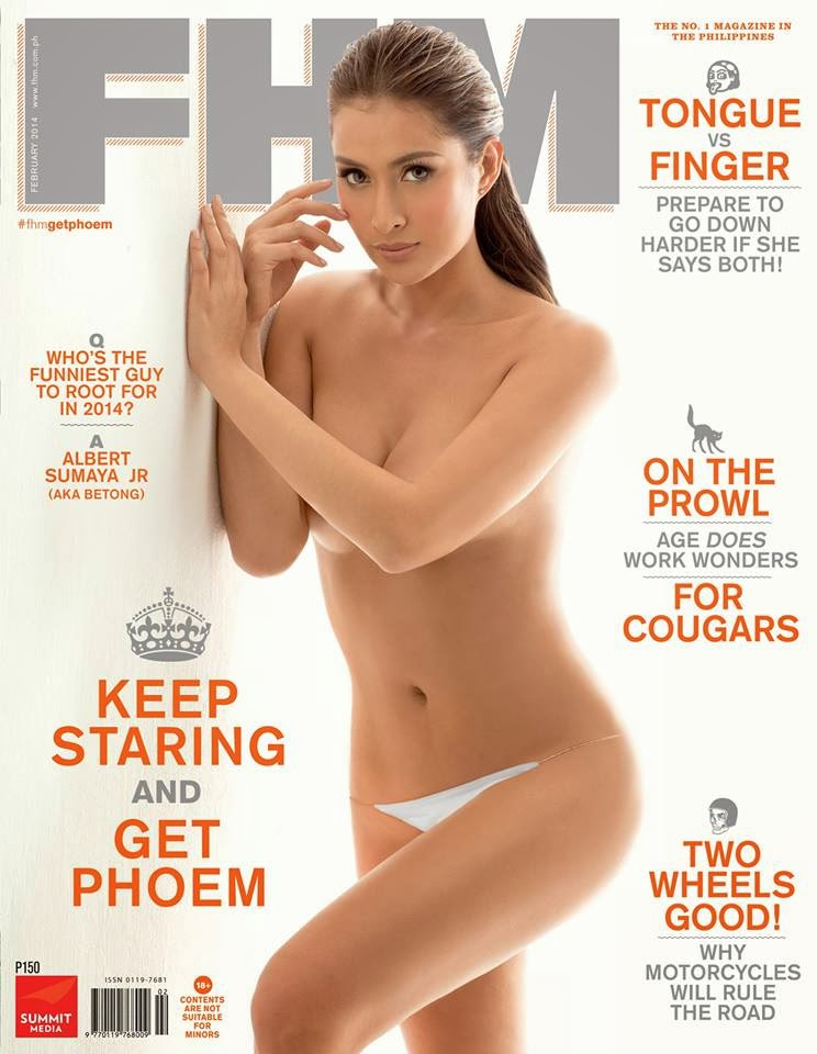 Phoemela Beranda is FHM Philippines cover for February