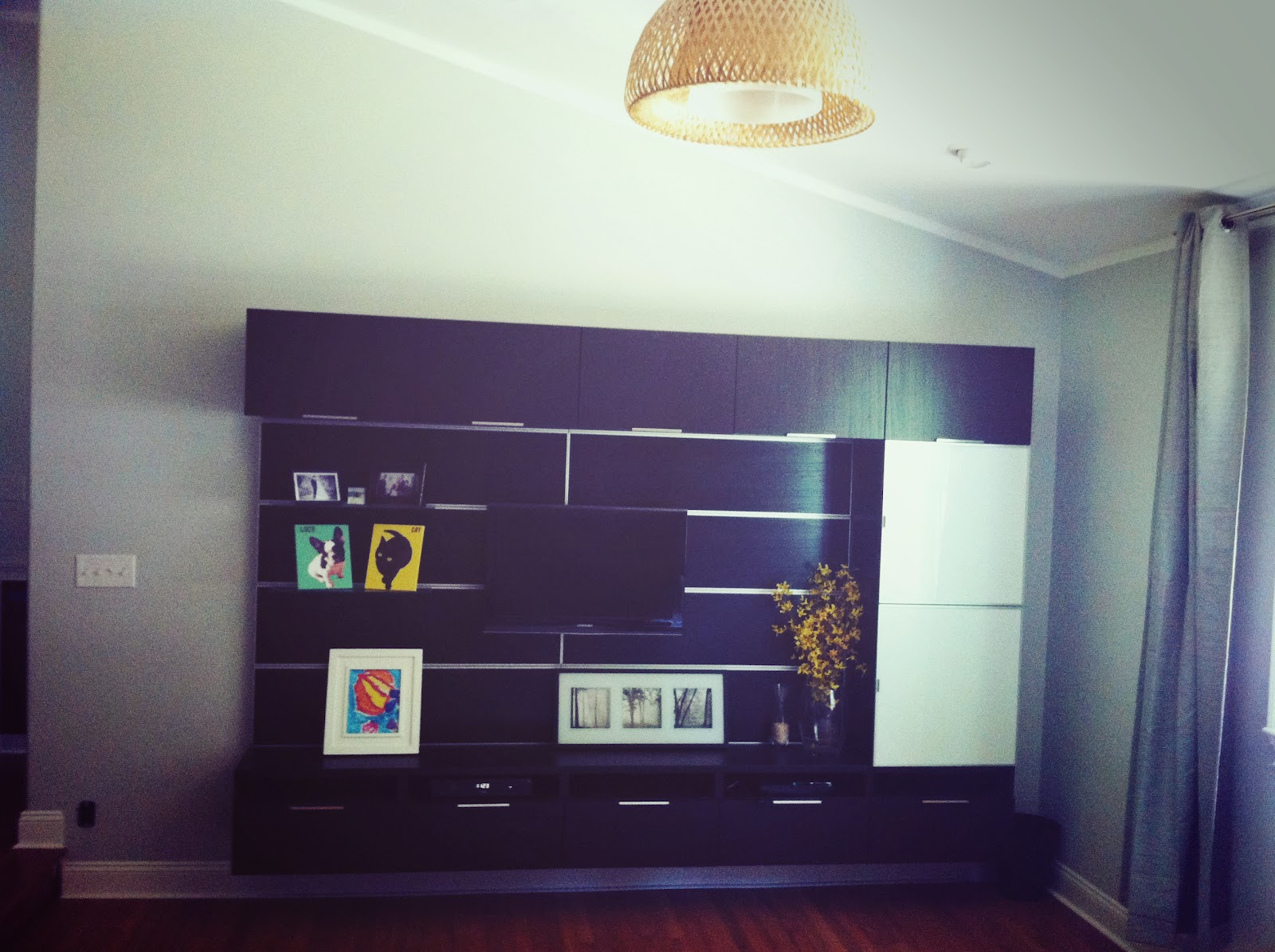 Ikea Besta Framsta Wall Mount Entertainment
