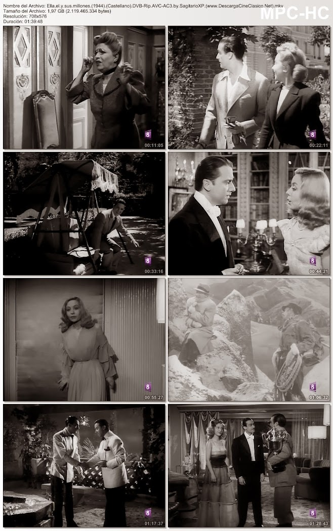 Ella, él y sus millones ( 1944 )