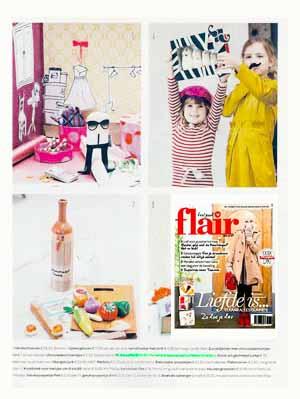 publicatie flair knuffels karl lagerfeld