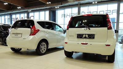 Nissan Note - porównanie obu generacji