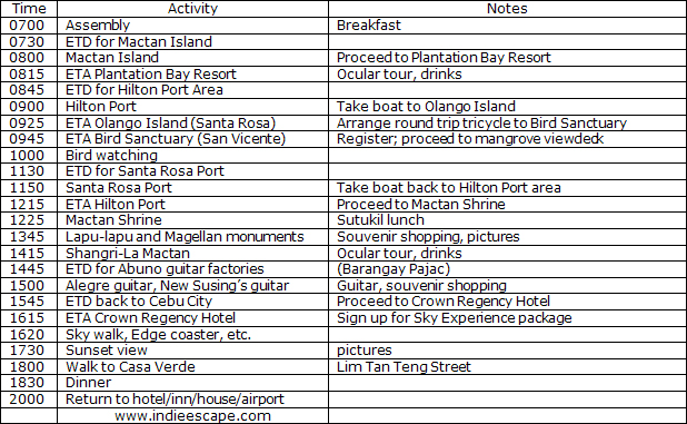 This Is Part 2 Of The Cebu City Tour Itinerary Ideal For Those Who Are Staying In Cebu For A Whole Weekend Have Your Breakfast In Theel Use Your