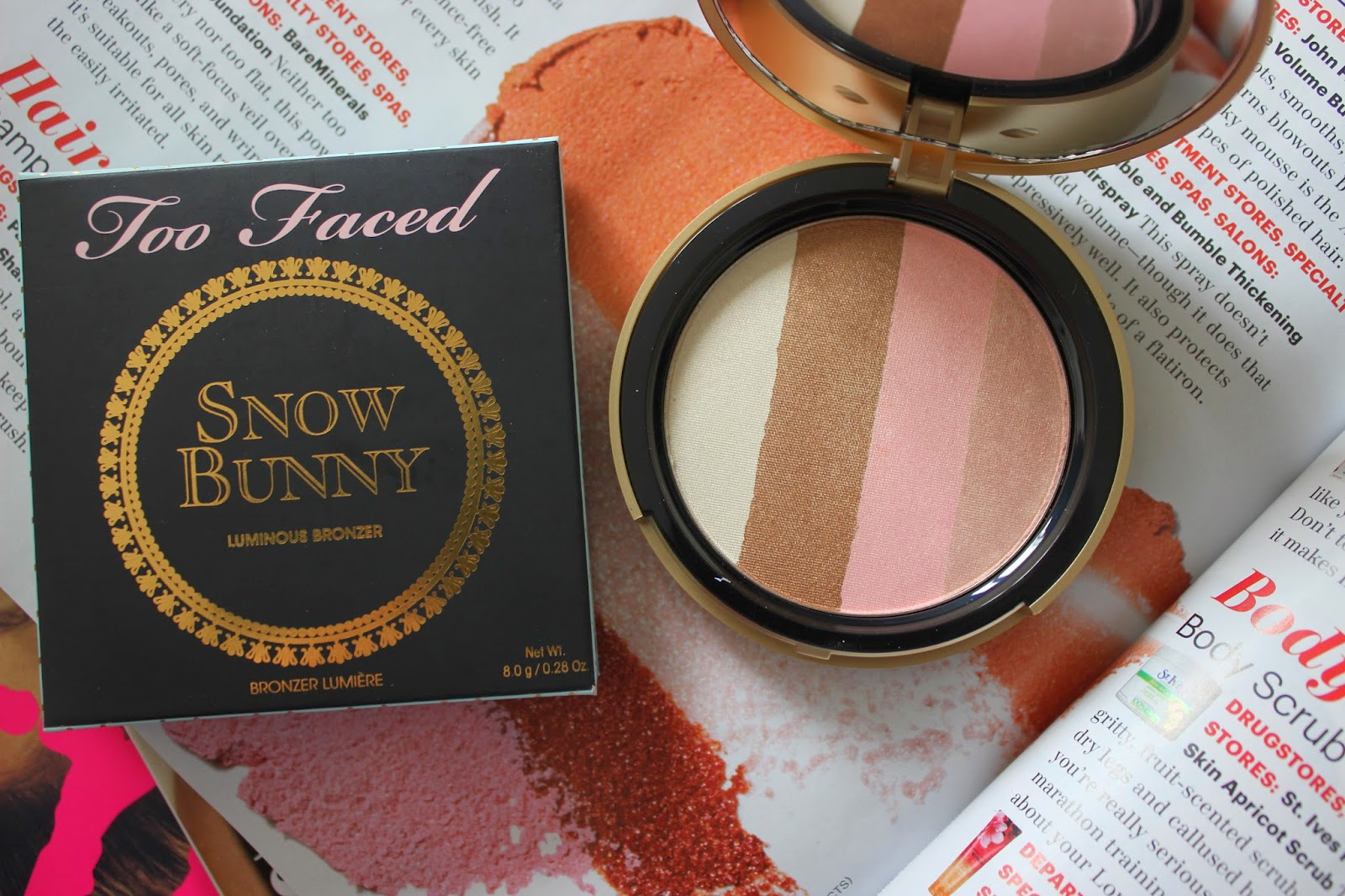 Too Faced Snow Bunny Review Swatch L'amour Josie