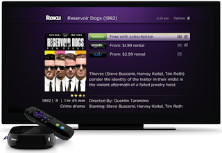 M-Go available to Rent New Movies on a Roku 3