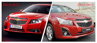 The Difference Between Chevy Cruze 2010-2012 and New Cruze