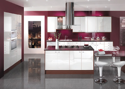 Home Interior Decorating Ideas Modern Kitchen Design With Color