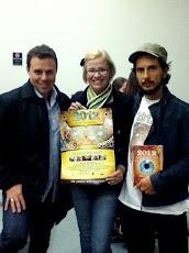 Com João Amorim. Diretor do Filme 2012 Time For Change. Premiado em vários festivais na Europa e EU