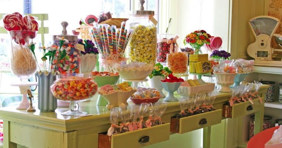 Mariage gourmand id es candy bar - Bar idee ...