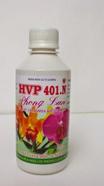 HVP 401.N Phân bón lá chuyên dùng cho phong lan