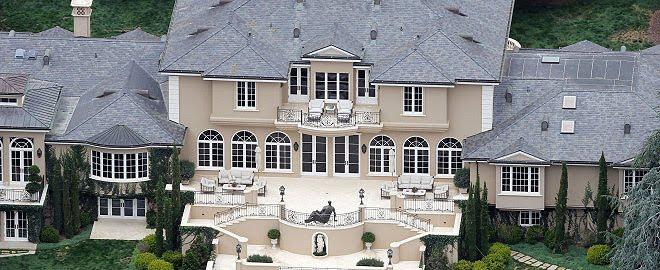 Las mejores casas de artistas for Las mejores casas de los famosos