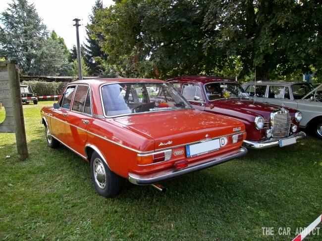 orange Audi