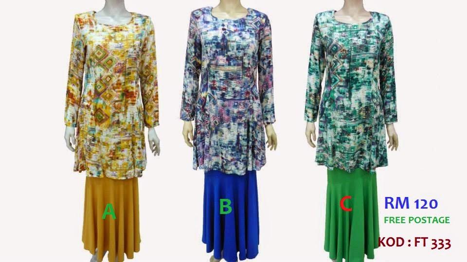 Baju Kurung Moden Kain Kembang Baju Kurung Moden Cotton Lycra