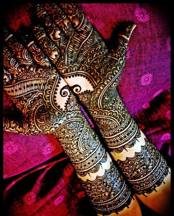 Bridal mehndi designs for full hands style choice