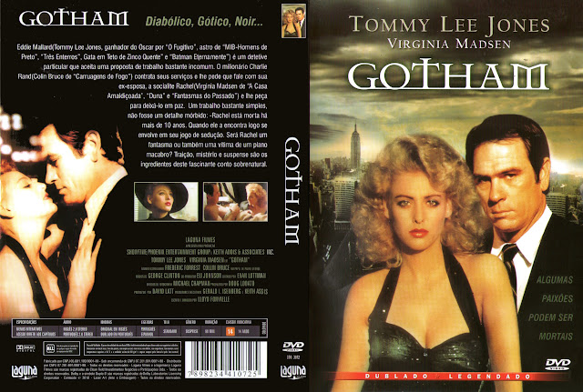 Capa DVD Gotham