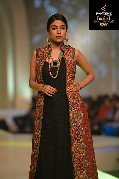 Pakistani models, Mona Imran, Pantene Bridal Couture Week 2013