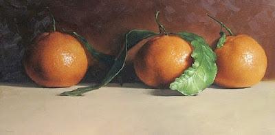 Bodegones Realistas de Una Sola Fruta