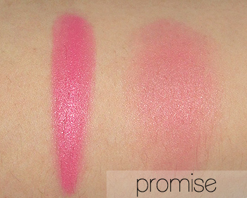 illamasqua promise swatches