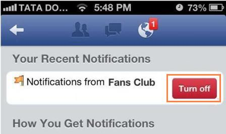 how to turn did you know off in facebook