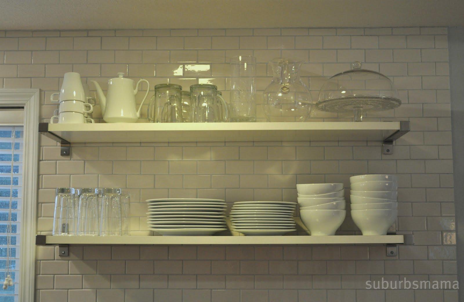 suburbs mama kitchen tour. Black Bedroom Furniture Sets. Home Design Ideas