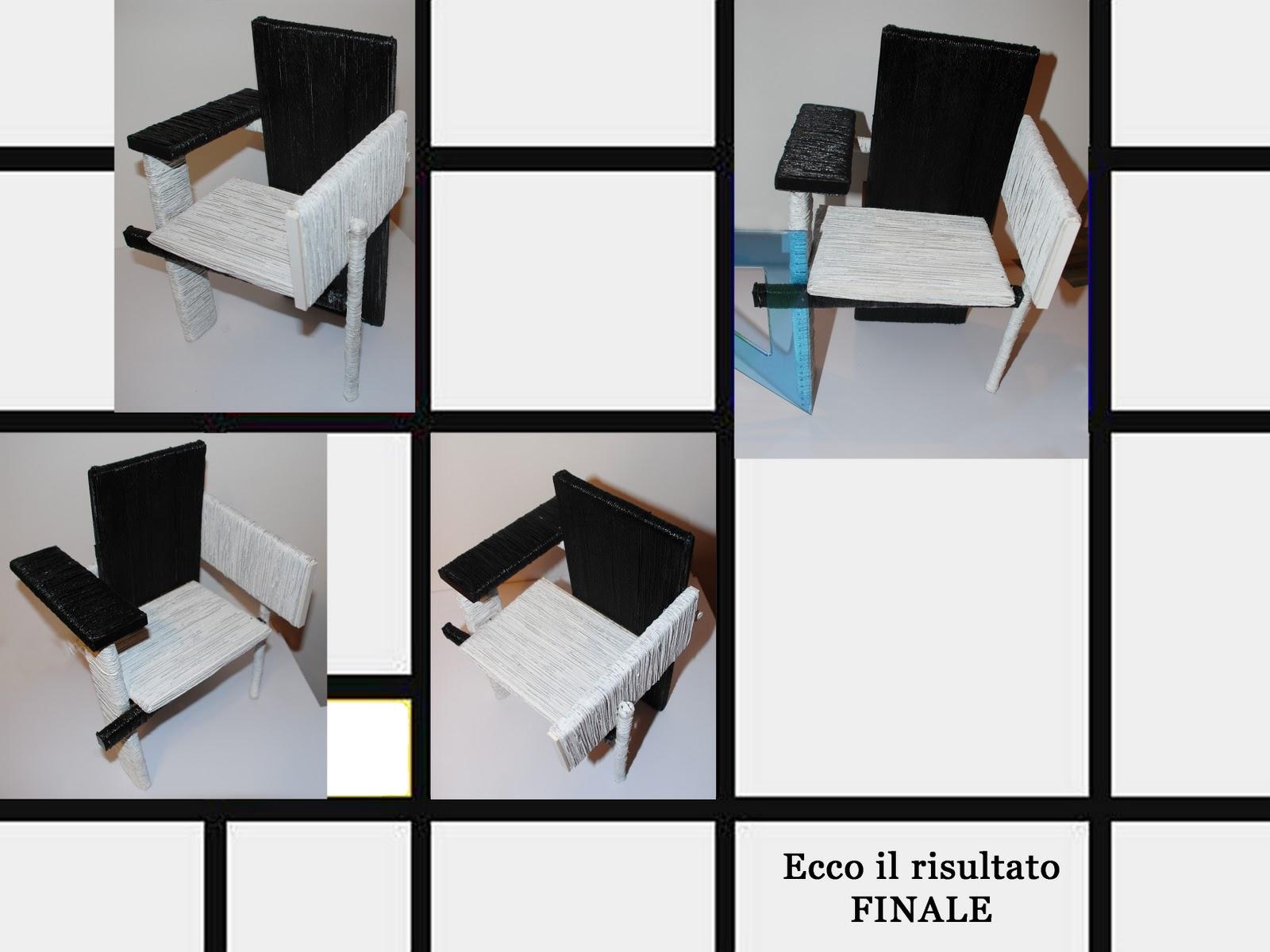 """Ecco e si procedeva un tempo… ed ¨ questa la tecnica che io ho voluto applicare alla mia """"Berlin Chair"""" personalizzata con l intento di ottenere una"""