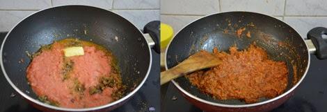cooking Punjabi dal makhani