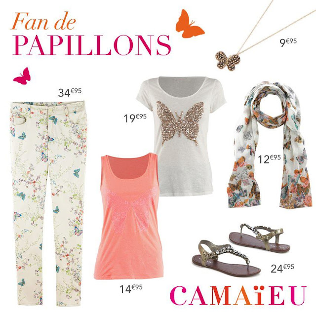 Camaïeu: nouvelle collection