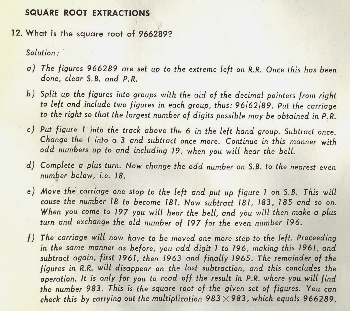 From Odhner 227 Instructions (click To Enlarge) How To Bead Weave Odd