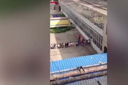 Sadis, Guru TK Tendang Muridnya sebagai Hukuman