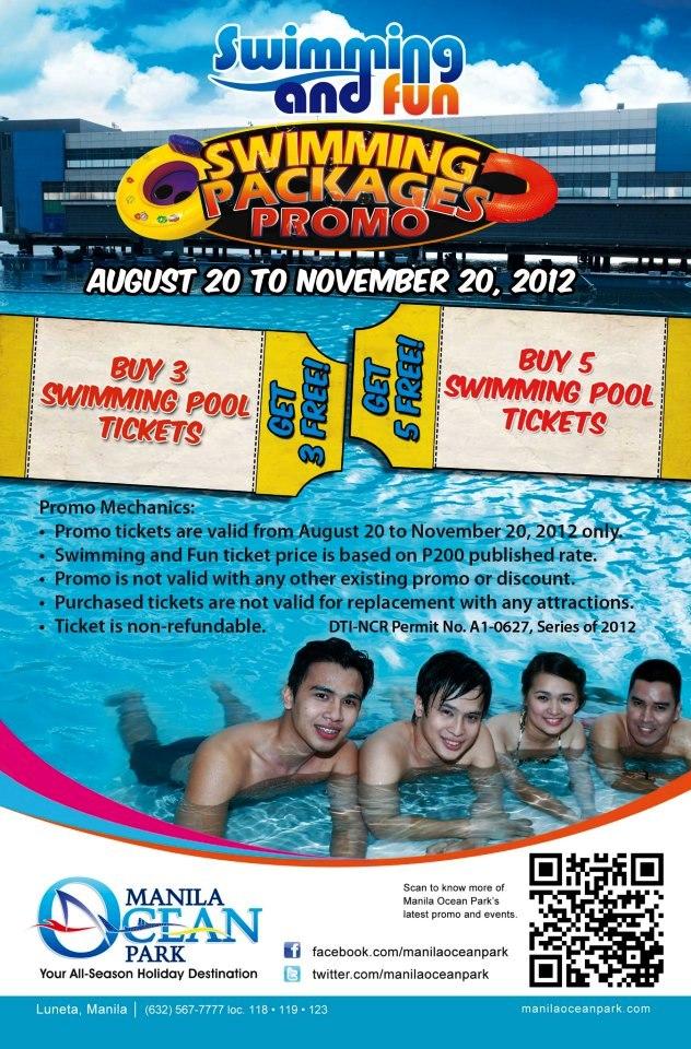 Manila Shopper Manila Ocean Park Aug Nov 2012 Package Promos