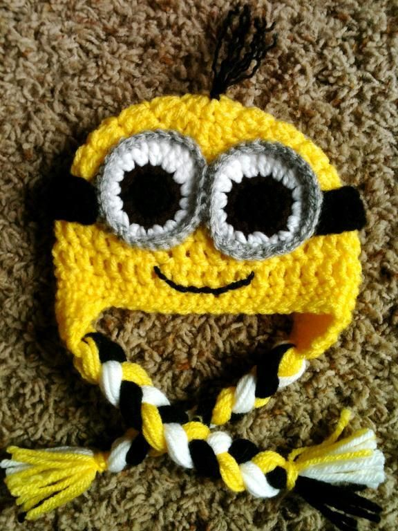 Crochet Patterns Minions Despicable Me : Serendipity: Despicable Me - Make your own Minion