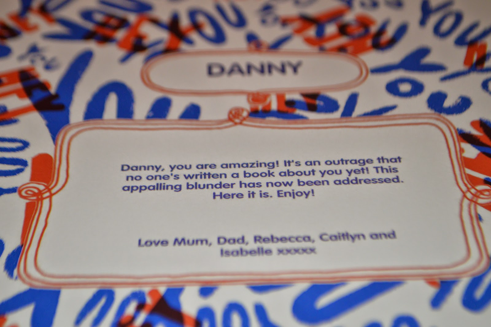 The Book of Everyone Danny Review Age UK Christmas Gift