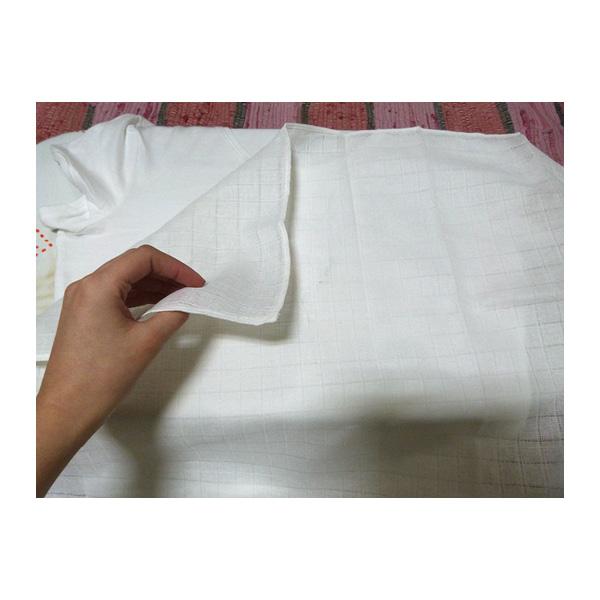 colocar el trapo de algodón encima