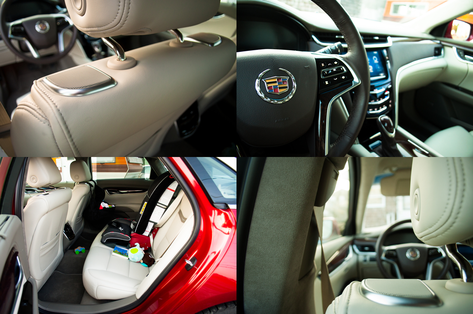 2015 Cadillac XTS collage