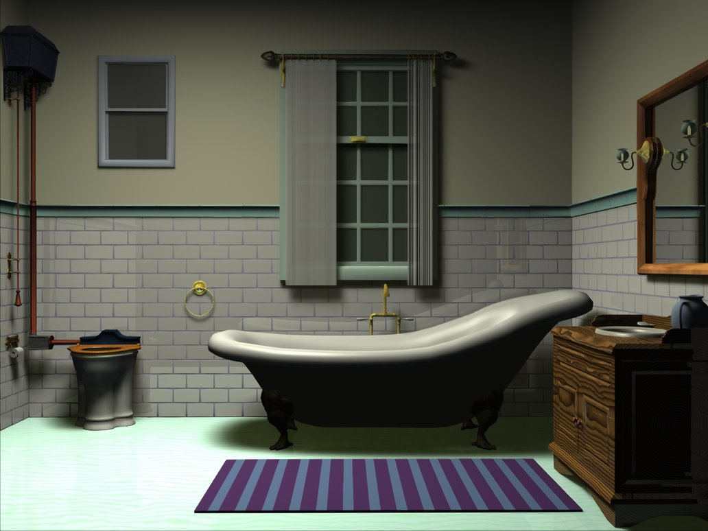 Victorian bathroom designs house and home for Bathroom styles and designs