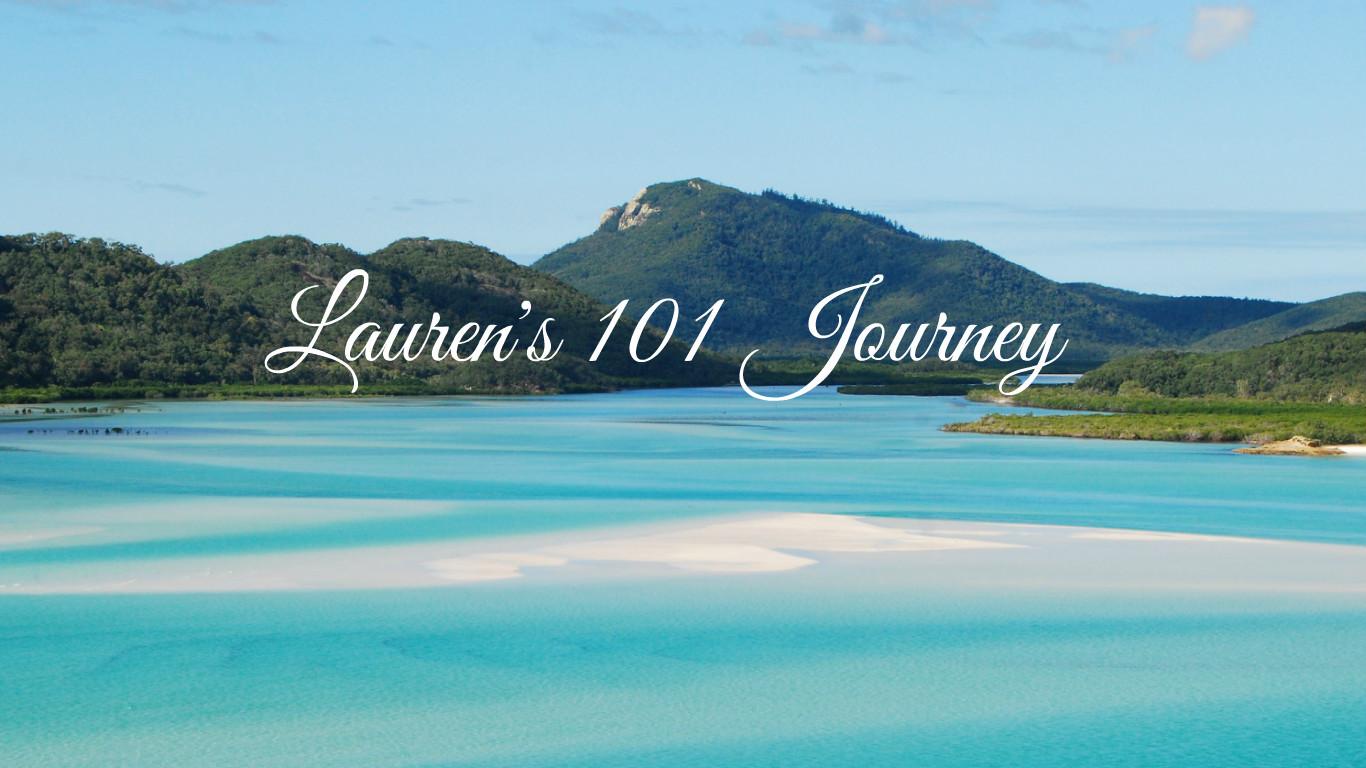 Lauren's 101 Journey