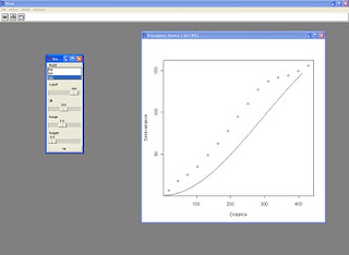 Variogram fit with RPanel