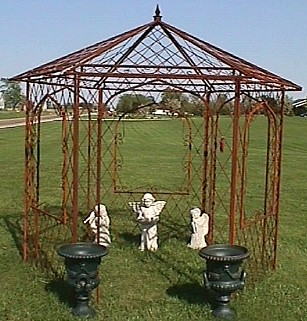 Purchasing A Metal Garden Gazebo To Enhance And Beautify A Homeu0027s Exterior  Can Be A Great Investment, Adding To The Décor And Atmosphere Of Any Yard  Or ...