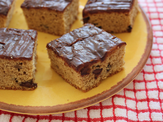 ... - Cooking Blog: Brown Butter Blondies with Chocolate Maple Glaze