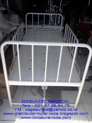 Ranjang Hospital Bed Pasien Bekas 1 Crank