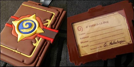 BlizzCon 2015 Hearthstone Luggage Tag