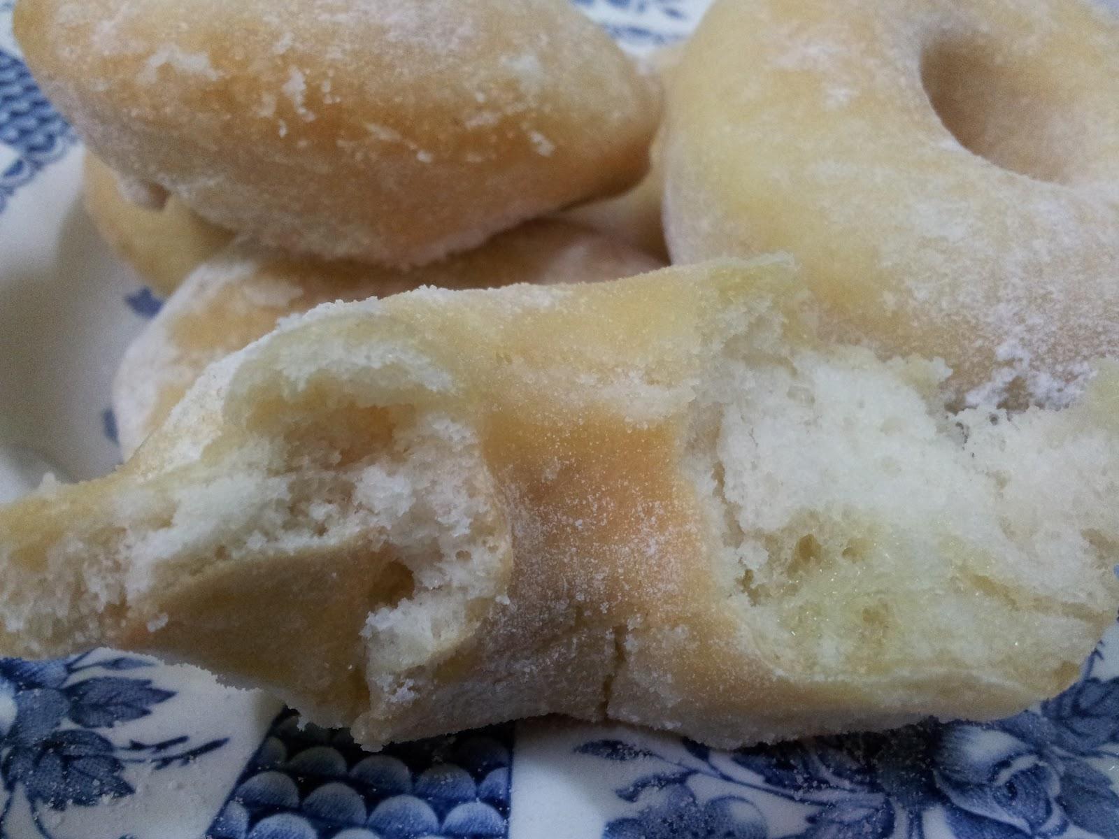 CITARASA RINDUAN: Resepi Donut Gebu dan lembut.