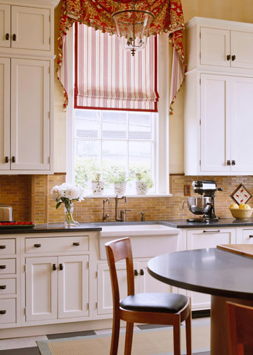 Single window treatment ideas home appliance Drapery treatments ideas