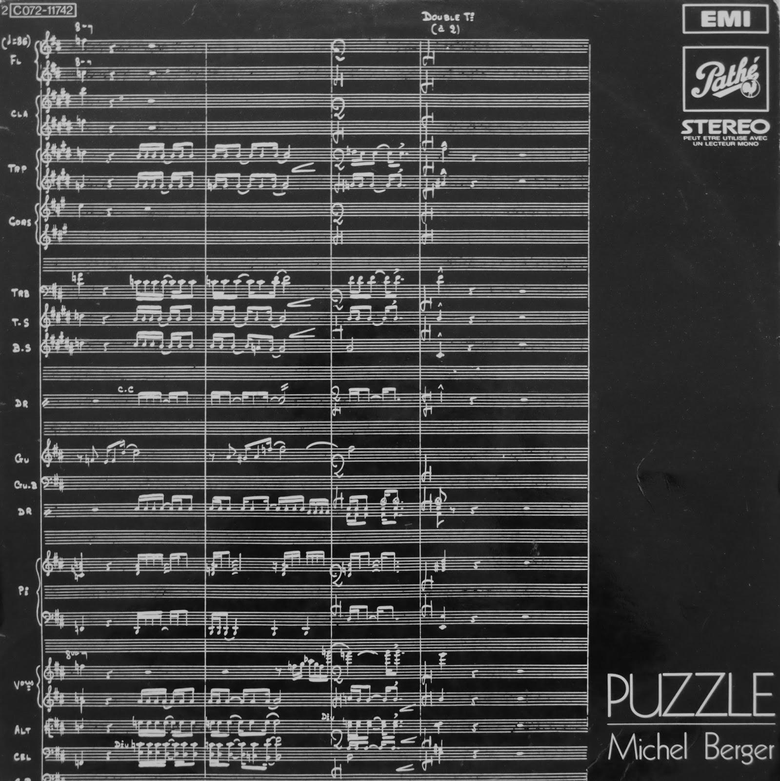 Funkyflex Records Michel Berger Puzzle 3e Mouvement 1971 Group Series Alor Part 1 17 22 Agustus 2018 En Aprs Quelques Singles Enregistrs Et Pas Vendus Alors Directeur Artistique A Des Envies De Grandeur