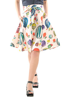 http://www.eshakti.com/shop/Skirts/Sash-waist-balloon-print-cotton-skirt-CL0035930