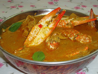 Crab Curry, Soth Indian Crab Curry