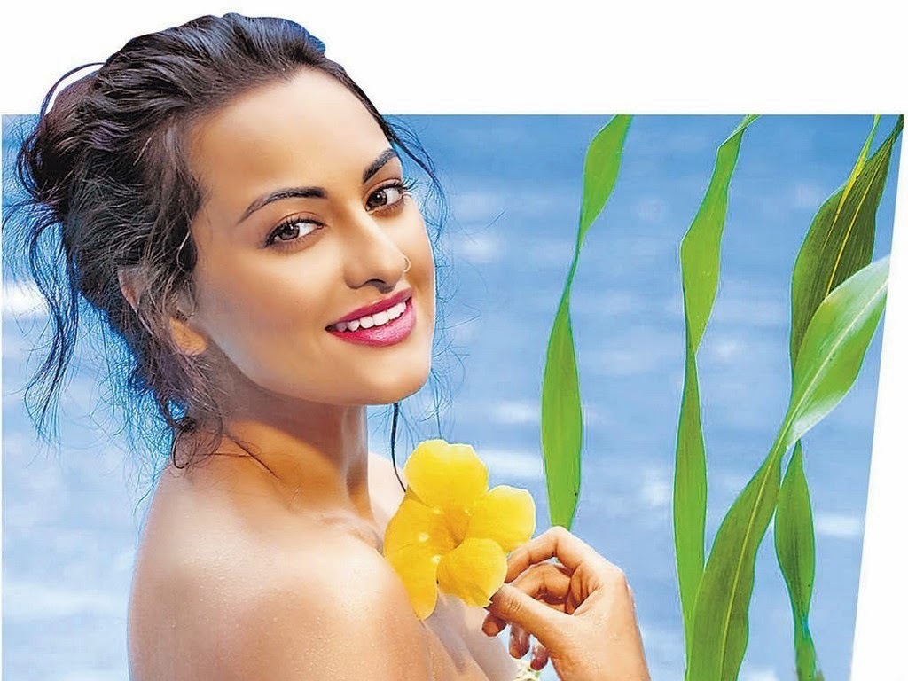 Bollywood Indian Actress Sonakshi Sinha Sexy HD Wallpaper