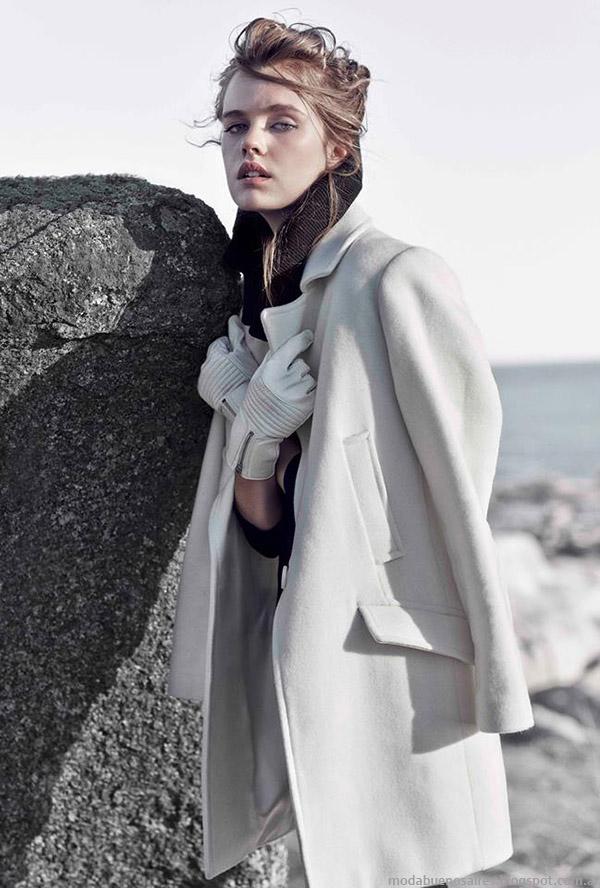 Paula Cahen D'Anvers tapados y abrigos otoño invierno 2015. Moda invierno 2015.