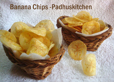 Raw banana chips-Vazhakkai Chips